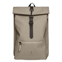 Rains Original Roll Top Rucksack Taupe