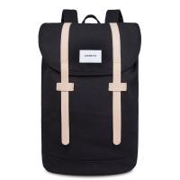 Sandqvist Stig Large Backpack Black/Natural