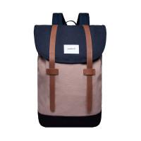 Sandqvist Stig Backpack Multi Navy/Earth Brown