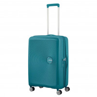 American Tourister Soundbox Spinner 67 Expandable Jade Green