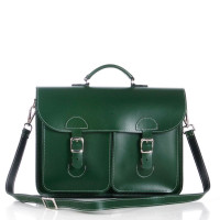 OldSchool Bags Schooltas Extra Large Racing Green