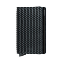 Secrid Slim Wallet Portemonnee Cubic Black