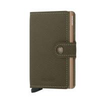 Secrid Mini Wallet Portemonnee Saffiano Olive