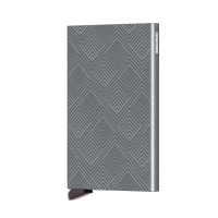 Secrid Cardprotector Kaarthouder Laser Structure Titanium