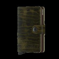Secrid Mini Wallet Portemonnee Dutch Martin Olive