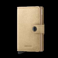 Secrid Mini Wallet Portemonnee Antique Gold