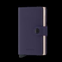 Secrid Mini Wallet Portemonnee Matte Purple Rose
