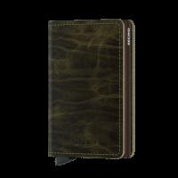 Secrid Slim Wallet Portemonnee Dutch Martin Olive