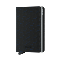 Secrid Slim Wallet Portemonnee Optical Black Titanium