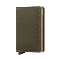 Secrid Slim Wallet Portemonnee Saffiano Olive
