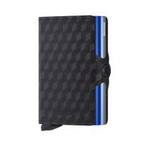 Secrid Twin Wallet Portemonnee Optical Titanium Blue