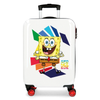 Disney Trolley 55 Cm 4 Wheels SpongeBob Twister White