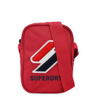 Superdry Sportstyle Side Bag Risk Red