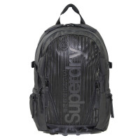 Superdry Tarp Backpack Thomas Black