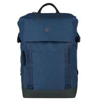 Victorinox Altmont Classic Deluxe Flapover Laptop Backpack Blue