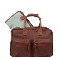 Cowboysbag The Diaperbag Luiertas Cognac
