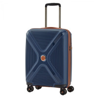 Titan Paradoxx 4 Wheel Cabin Trolley S Navy