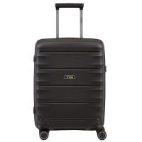 Titan Highlight 4 Wheel Handbagage Trolley S Black