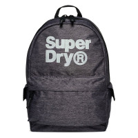 Superdry Montana Backpack Logo Grey