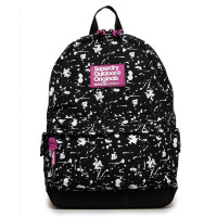 Superdry Montana Print Edition Backpack Colour Change Black
