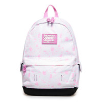 Superdry Montana Print Edition Backpack Col Change White