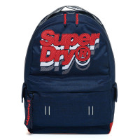 Superdry Montana Backpack Jacky Dark Navy / Fluro Red