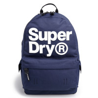Superdry Montana Logo Backpack Downhill Blue