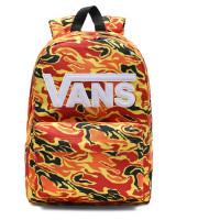 Vans New Skool Kids Rugzak Flame Camo