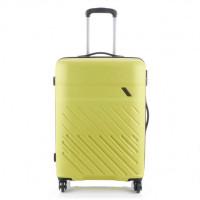 Travelite Vinda 4 Wheel Trolley M Lemon