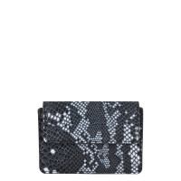 Cowboysbag X Bobbie Bodt Wallet Peridot Snake Black And White