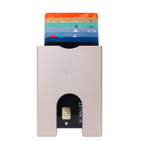 Walter Wallet Aluminium Slim 7 Cards Rose Gold