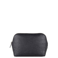 Cowboysbag X Bobbie Bodt Wash Bag Ruby Croco Black