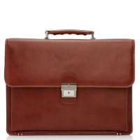Castelijn & Beerens Realta RFID Laptoptas 15.4'' Cognac