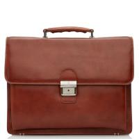 Castelijn & Beerens Realta RFID Laptoptas 13.3'' Cognac