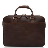 Castelijn & Beerens Verona Business 3-Vaks Laptoptas 15.6'' Mocca