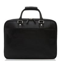 Castelijn & Beerens Verona Business 3-Vaks Laptoptas 15.6'' Zwart