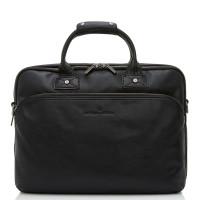 Castelijn & Beerens Firenze Business 3-Vaks Laptoptas 15.6'' Zwart 9473