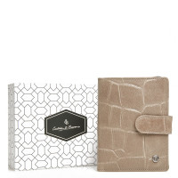 Castelijn & Beerens Giftbox Ritsportemonnee RFID 5415 Taupe