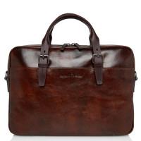 Castelijn & Beerens Rien 3-Vaks Laptoptas 15.6'' RFID Cognac