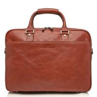 Castelijn & Beerens Verona Business RFID Laptoptas 15.6'' Licht Bruin