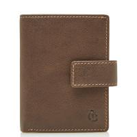 Castelijn & Beerens Canyon RFID Mini Wallet Creditcard Mocca