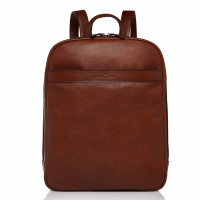 Castelijn & Beerens Vivo Laptop Backpack 15.6'' RFID Cognac 9576
