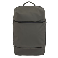 Salzen Savvy Fabric Daypack Backpack Olive Grey