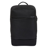Salzen Savvy Leather Daypack Backpack Aligned Smoke