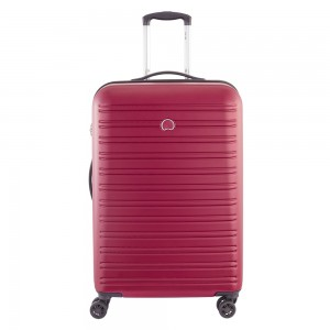 Delsey Segur Trolley Case 4 Wheel 70 Red