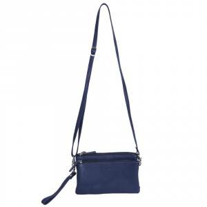 DSTRCT West End New Clutch Schoudertas Blue