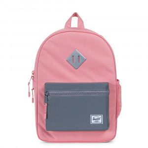 Herschel Heritage Youth Rugzak Strawberry Ice/ Reflective Rubber
