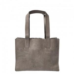Myomy My Paper Bag Handbag Zip Hunter Taupe