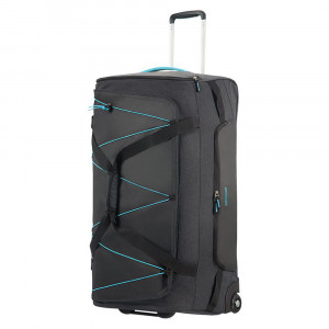 American Tourister Road Quest Duffle Wheels 79 Graphite/ Turquoise