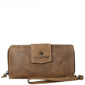 MicMacbags Colorado Portemonnee Large Zand 16189